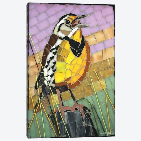 Meadowlark Glass Mosaic Canvas Print #CYT136} by Cynthie Fisher Art Print