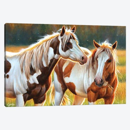 Two Paints Canvas Print #CYT193} by Cynthie Fisher Canvas Art