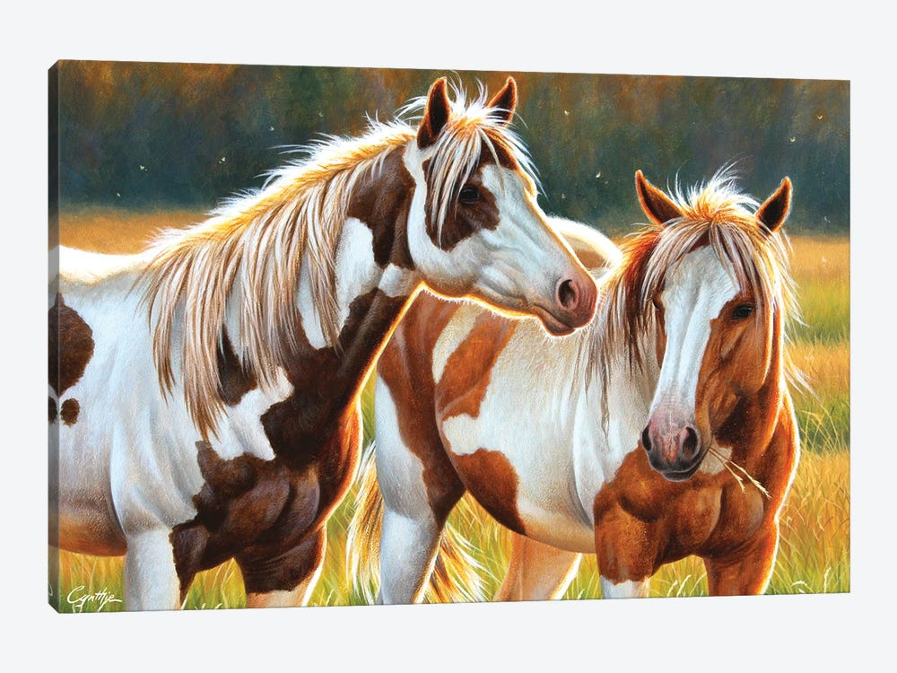 Two Paints by Cynthie Fisher 1-piece Canvas Artwork