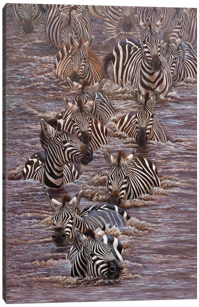 Dauntless Canvas Art Print