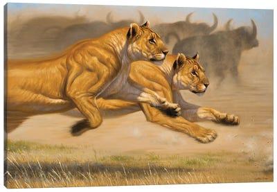 Deadly Duo Canvas Art Print