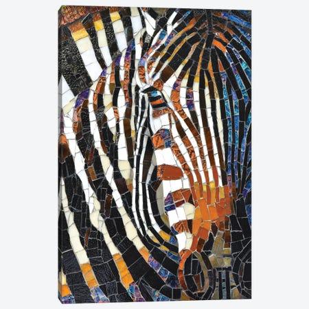 Giraffe Glass Mosaic II Canvas Print #CYT77} by Cynthie Fisher Canvas Art