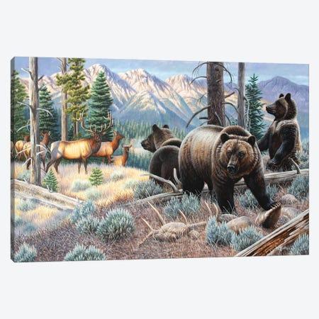 Griz Fam Canvas Print #CYT86} by Cynthie Fisher Canvas Art Print