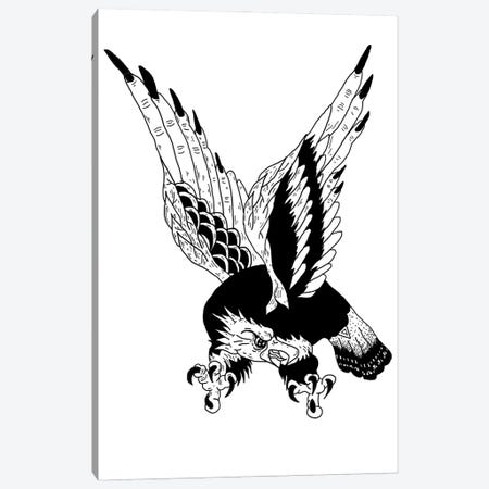 Eagle Canvas Print #CZA102} by Nick Cocozza Canvas Wall Art