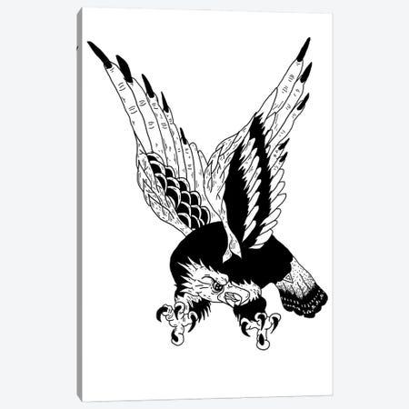 Eagle Canvas Print #CZA102} by Nick Cocozza Canvas Wall Art