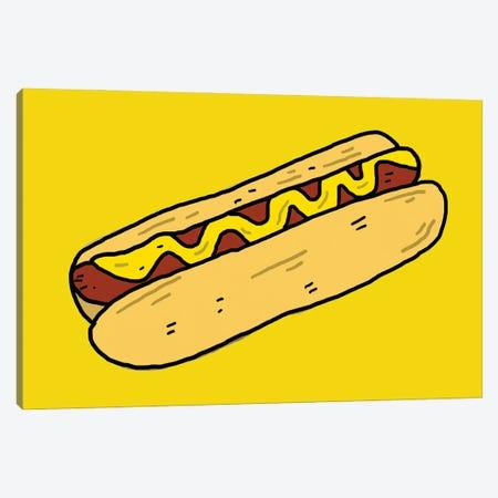 Hotdog Canvas Print #CZA105} by Nick Cocozza Canvas Art Print