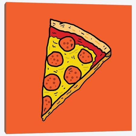 Pizza Canvas Print #CZA106} by Nick Cocozza Canvas Art Print