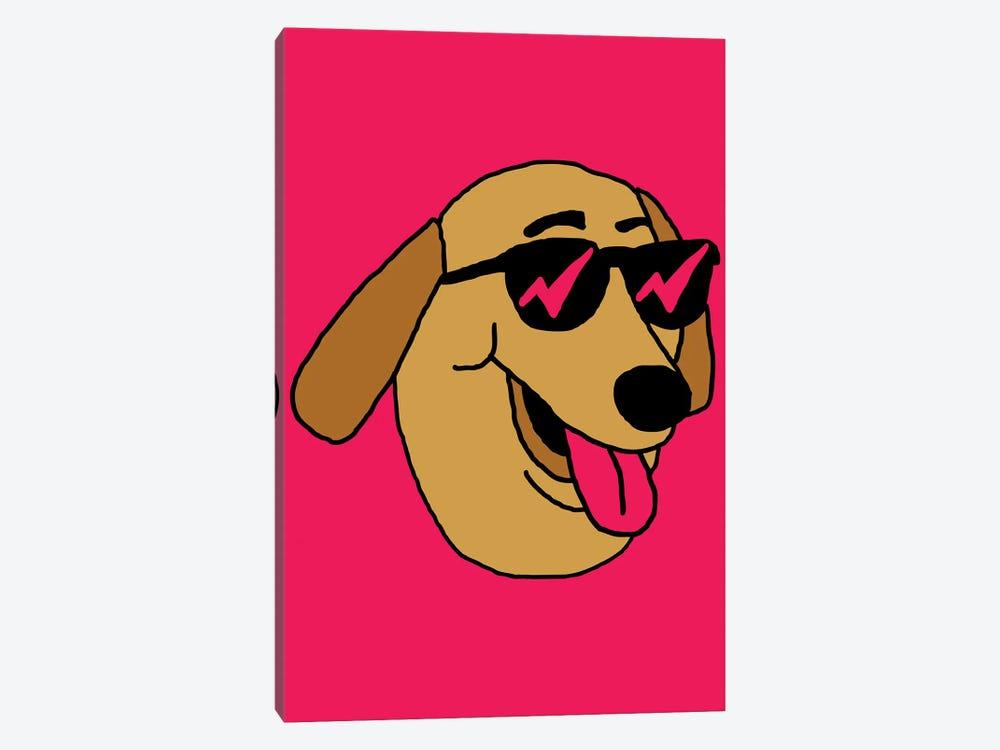 Dog by Nick Cocozza 1-piece Canvas Art Print