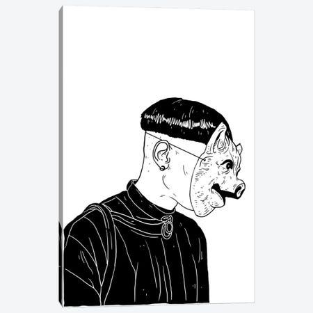 mask Canvas Print #CZA110} by Nick Cocozza Art Print