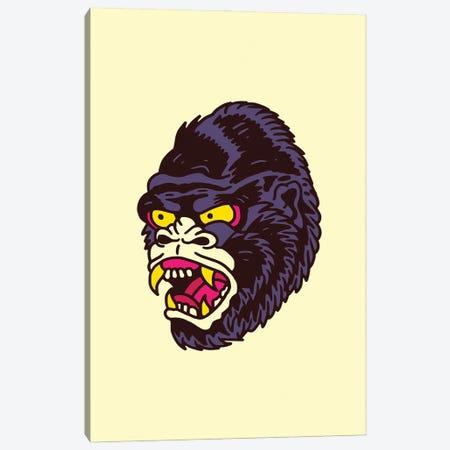 Gorilla Canvas Print #CZA113} by Nick Cocozza Art Print