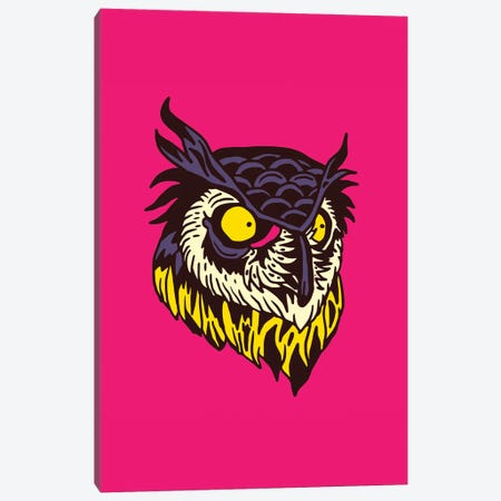 Owl Canvas Print #CZA116} by Nick Cocozza Canvas Wall Art