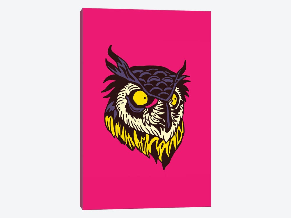 Owl by Nick Cocozza 1-piece Canvas Print