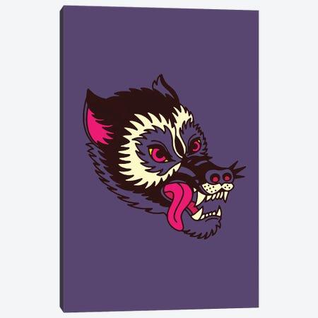 Wolf 3-Piece Canvas #CZA118} by Nick Cocozza Art Print
