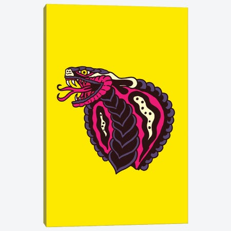 Cobra Canvas Print #CZA119} by Nick Cocozza Canvas Art Print