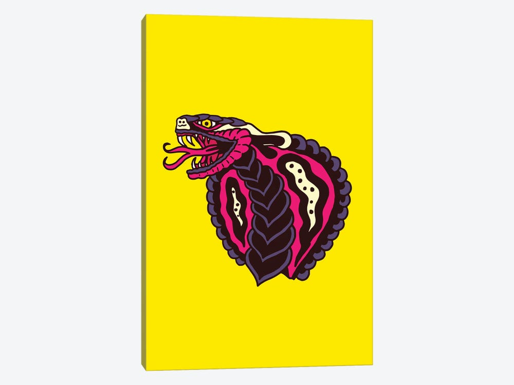 Cobra by Nick Cocozza 1-piece Canvas Art