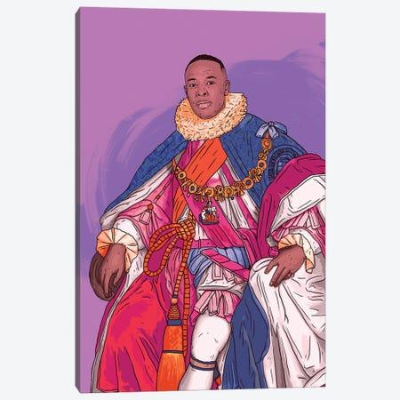 Dre purple Canvas Print #CZA125} by Nick Cocozza Canvas Print