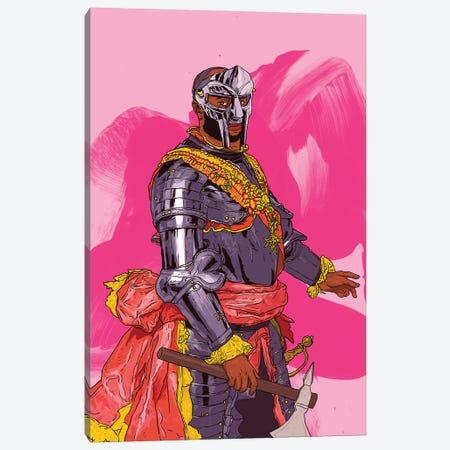 King MF Doom Canvas Print #CZA126} by Nick Cocozza Art Print