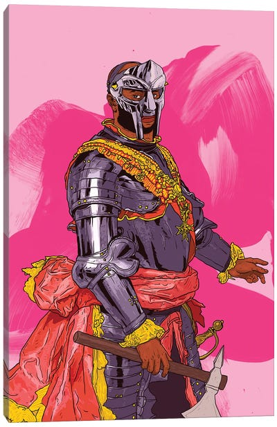King MF Doom Canvas Art Print
