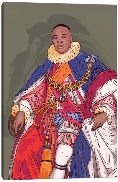 King Dre Canvas Art Print