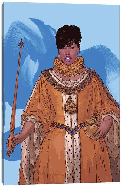 Queen Missy Canvas Art Print