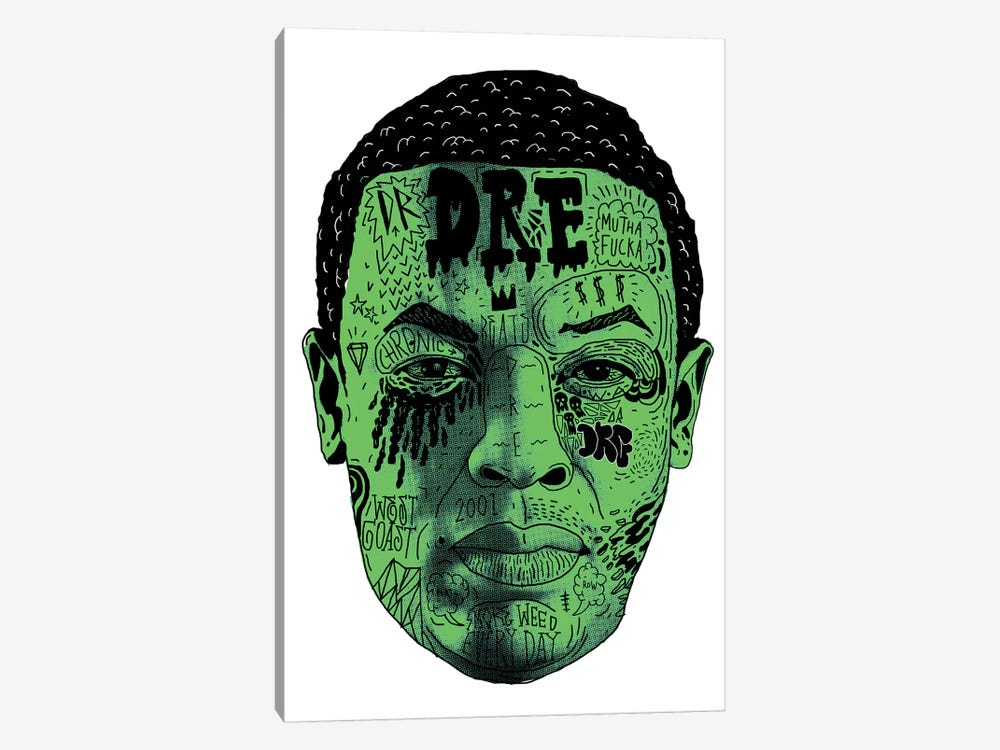 Dr. Dre by Nick Cocozza 1-piece Canvas Artwork