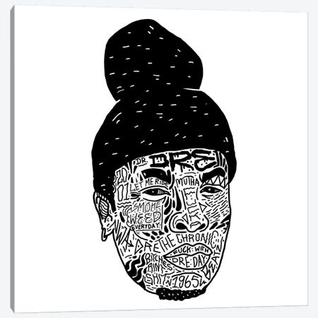 Dre Canvas Print #CZA13} by Nick Cocozza Canvas Art