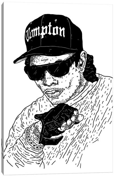 Eazy-E Canvas Art Print