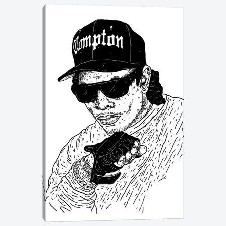 Eazy-E Canvas Print #CZA14} by Nick Cocozza Art Print