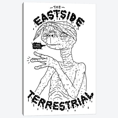 ET: The Eastside Terrestrial Canvas Print #CZA16} by Nick Cocozza Canvas Art Print