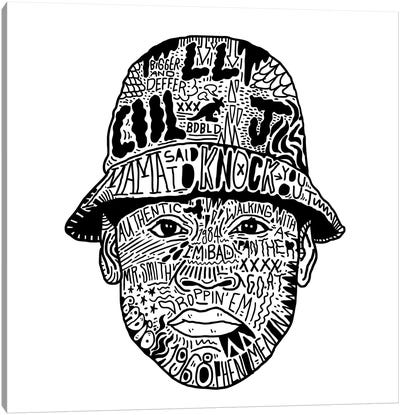 LL Cool J Canvas Art Print