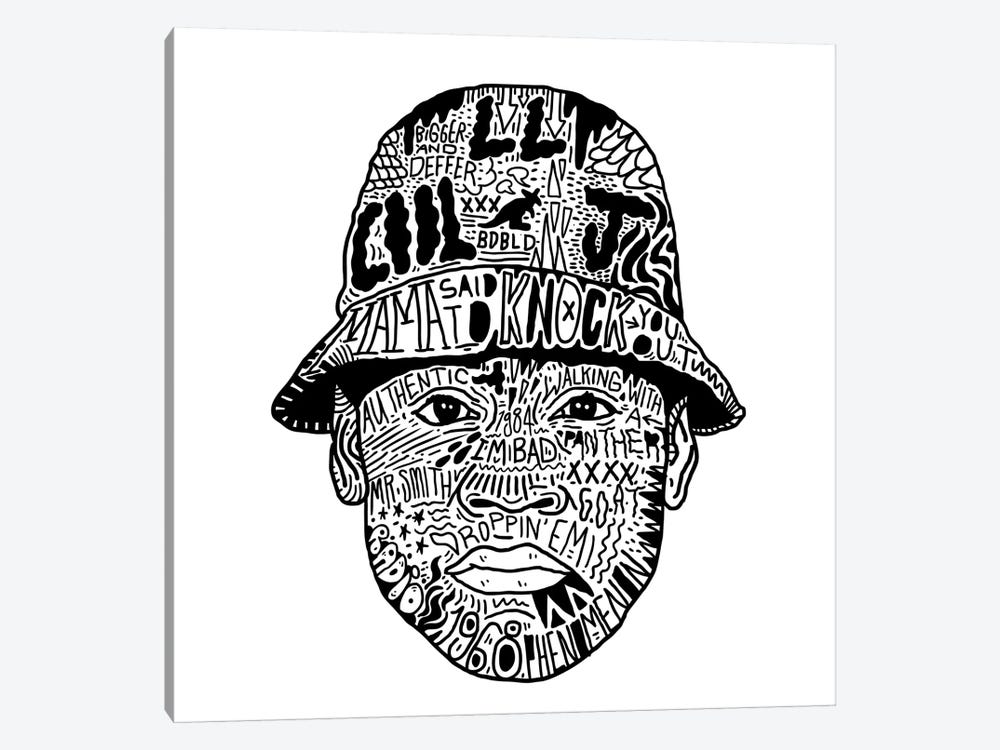 LL Cool J by Nick Cocozza 1-piece Canvas Artwork