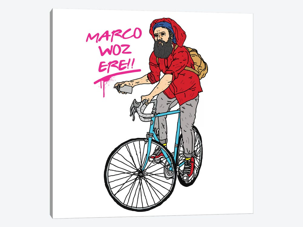 Marco Polo by Nick Cocozza 1-piece Art Print