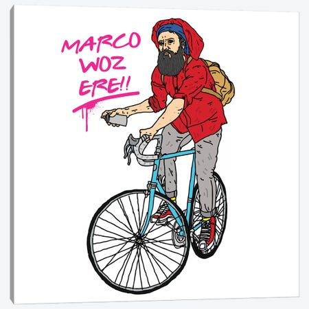 Marco Polo Canvas Print #CZA28} by Nick Cocozza Canvas Art Print