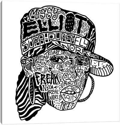 Missy Elliott Canvas Art Print