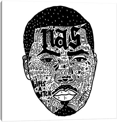 Nas Canvas Art Print