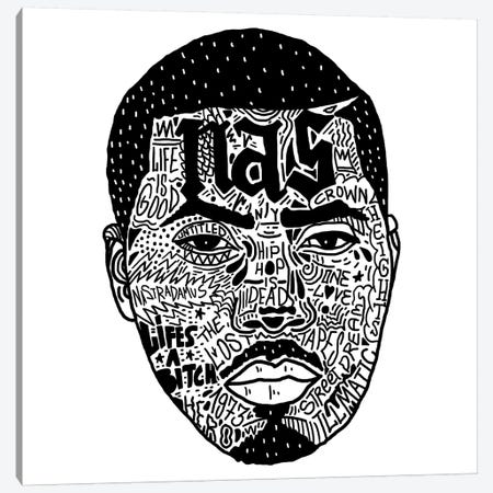 Nas Canvas Print #CZA31} by Nick Cocozza Canvas Wall Art