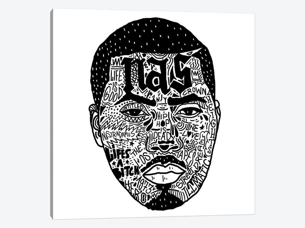 Nas by Nick Cocozza 1-piece Art Print
