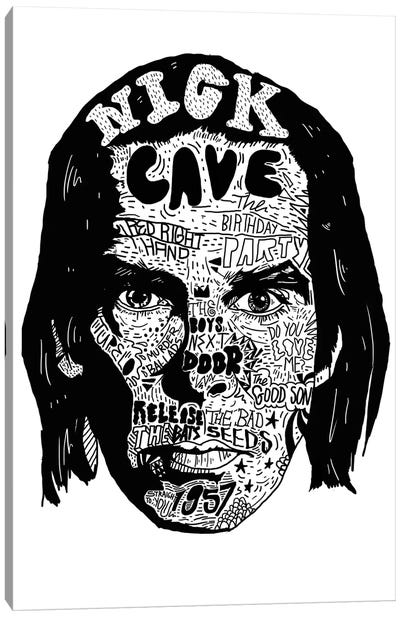 Nick Cave Canvas Art Print