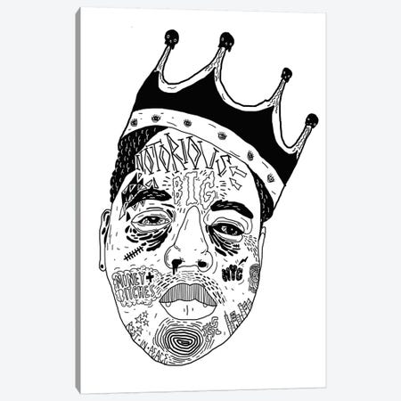 Notorious Canvas Print #CZA33} by Nick Cocozza Canvas Artwork