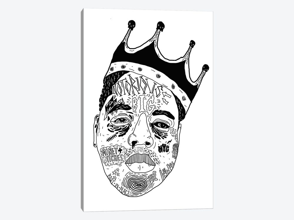 Notorious by Nick Cocozza 1-piece Art Print