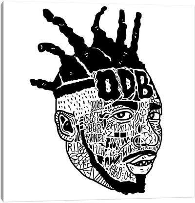 ODB Canvas Art Print