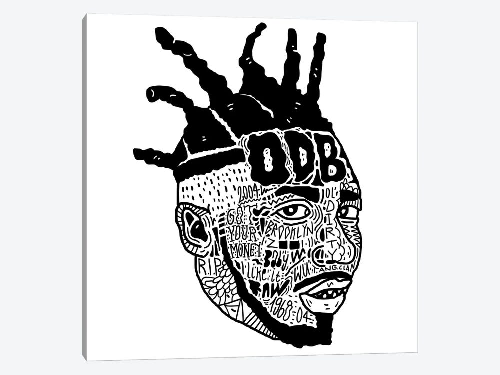ODB by Nick Cocozza 1-piece Canvas Artwork