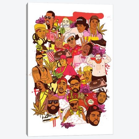 Rap Legends Canvas Print #CZA38} by Nick Cocozza Canvas Artwork