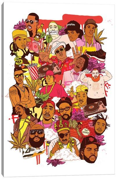 Rap Legends Canvas Art Print