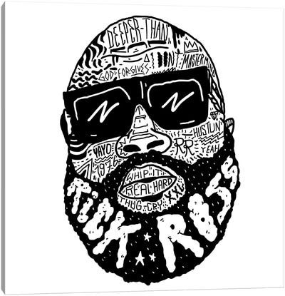 Rick Ross Canvas Art Print