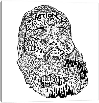 Action Bronson Canvas Art Print