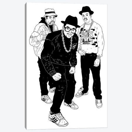 Run DMC Canvas Print #CZA41} by Nick Cocozza Art Print