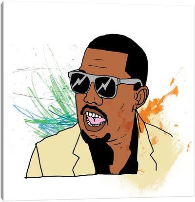Kanye Canvas Art Print