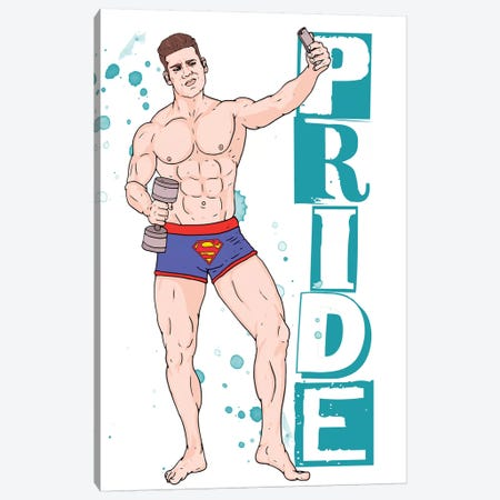 Pride Canvas Print #CZA51} by Nick Cocozza Canvas Art