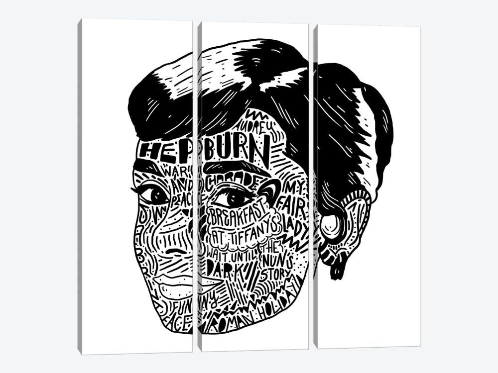 Audrey by Nick Cocozza 3-piece Canvas Wall Art